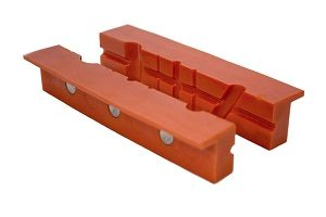 Click here to see examples of bench vise jaw covers.