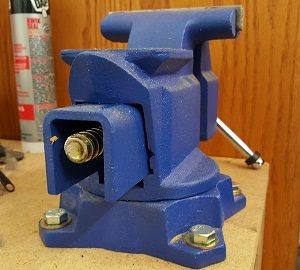 bench vise maintenance