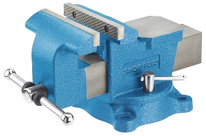 Shop Fox D3250 6 Inch Swivel Bench Vise Review
