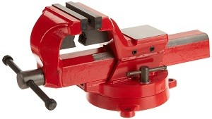yost fsv-4 forged steel bench vise